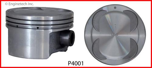 1998 Honda Passport 3.2L Engine Piston Set P4001(6) -2