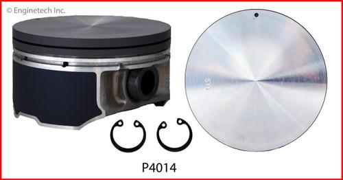 2001 Nissan Pathfinder 3.5L Engine Piston Set P4014(6) -4