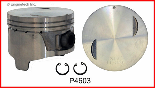 1987 Nissan 200SX 3.0L Engine Piston Set P4603(6) -3