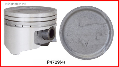 1993 Mitsubishi Expo 2.4L Engine Piston Set P4709(4) -4