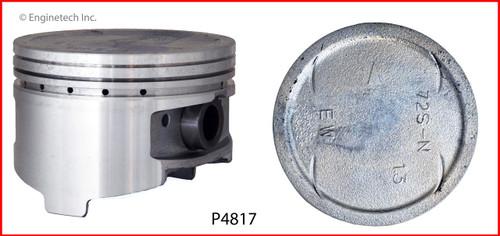2003 Mitsubishi Galant 3.0L Engine Piston Set P4817(6) -40