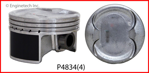 2004 Honda Element 2.4L Engine Piston Set P4834(4) -8
