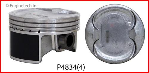 2006 Honda Element 2.4L Engine Piston Set P4834(4) -16