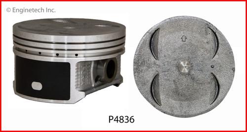 2003 Honda Pilot 3.5L Engine Piston Set P4836(6) -12