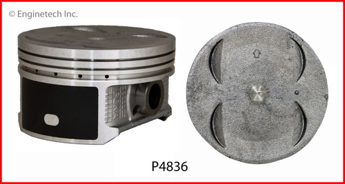 2005 Honda Pilot 3.5L Engine Piston Set P4836(6) -28