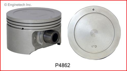 2004 Hyundai Santa Fe 2.7L Engine Piston Set P4862(6) -22