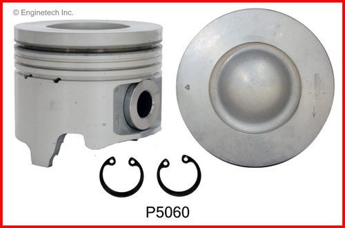 2004 GMC Sierra 2500 HD 6.6L Engine Piston Set P5060(8) -129