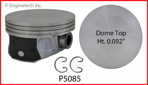 2012 Ram 1500 5.7L Engine Piston Set P5085(8) -150