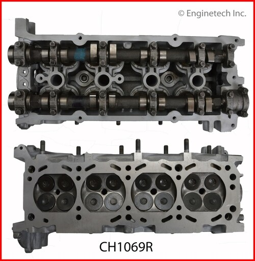 1997 Nissan Altima 2.4L Engine Cylinder Head Assembly CH1069R -5