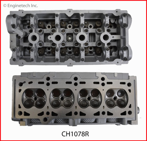 2004 Jeep Wrangler 2.4L Engine Cylinder Head Assembly CH1078R -11