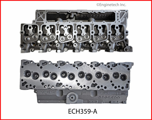 1989 Dodge D350 5.9L Engine Cylinder Head EHC359-A -2