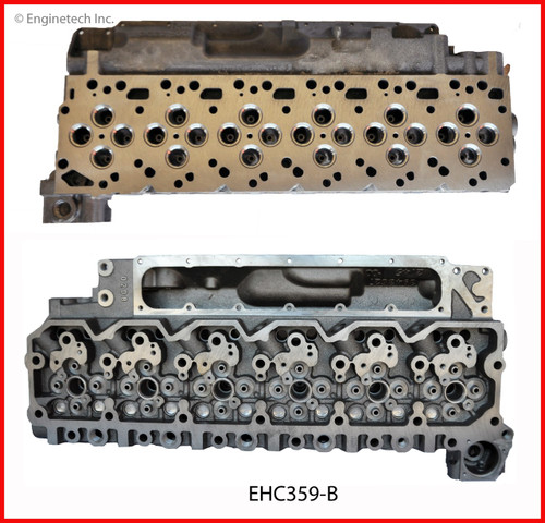 2001 Dodge Ram 2500 5.9L Engine Cylinder Head EHC359-B -8