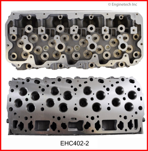 2006 Hummer H1 6.6L Engine Cylinder Head EHC402-2 -63