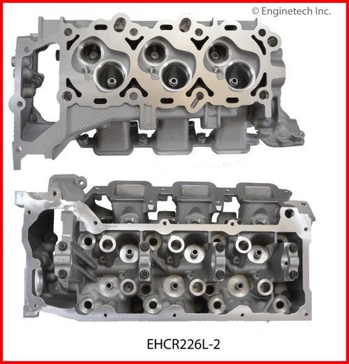 2012 Ram 1500 3.7L Engine Cylinder Head EHCR226L-2 -45