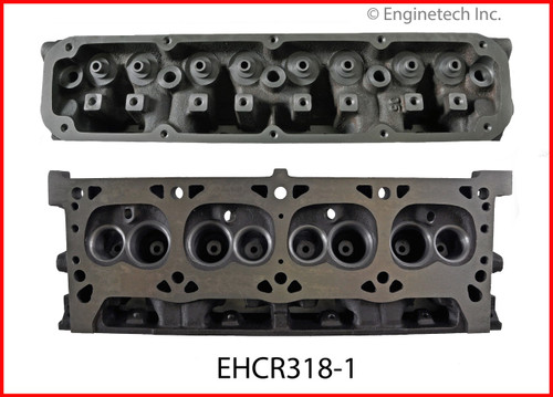 1994 Jeep Grand Cherokee 5.2L Engine Cylinder Head EHCR318-1 -45