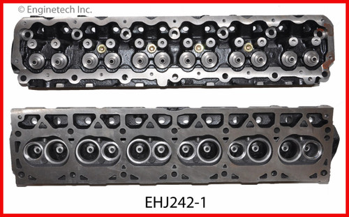 2001 Jeep Wrangler 4.0L Engine Cylinder Head EHJ242-1 -9