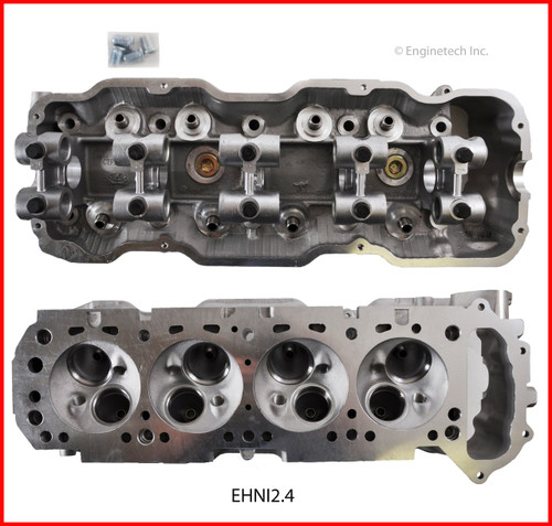 1987 Nissan D21 2.4L Engine Cylinder Head EHNI2.4 -6