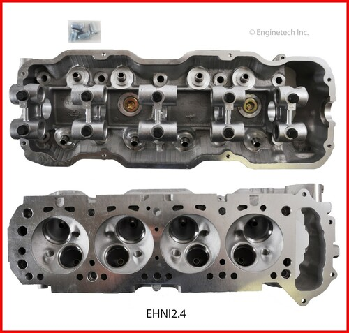 1989 Nissan D21 2.4L Engine Cylinder Head EHNI2.4 -11