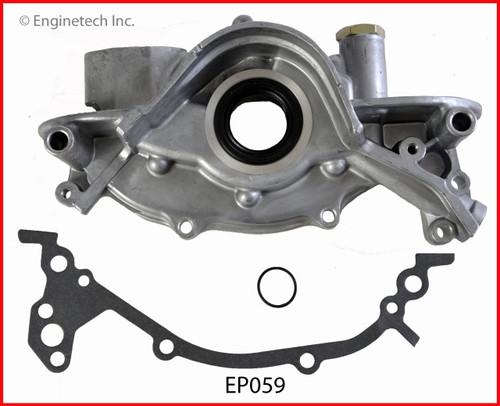 1988 Nissan 200SX 3.0L Engine Oil Pump EP059 -6