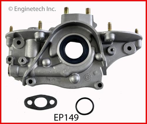 1986 Honda Civic 1.3L Engine Oil Pump EP149 -8
