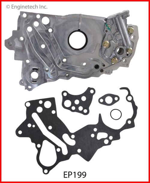 1993 Mitsubishi Expo 2.4L Engine Oil Pump EP199 -6