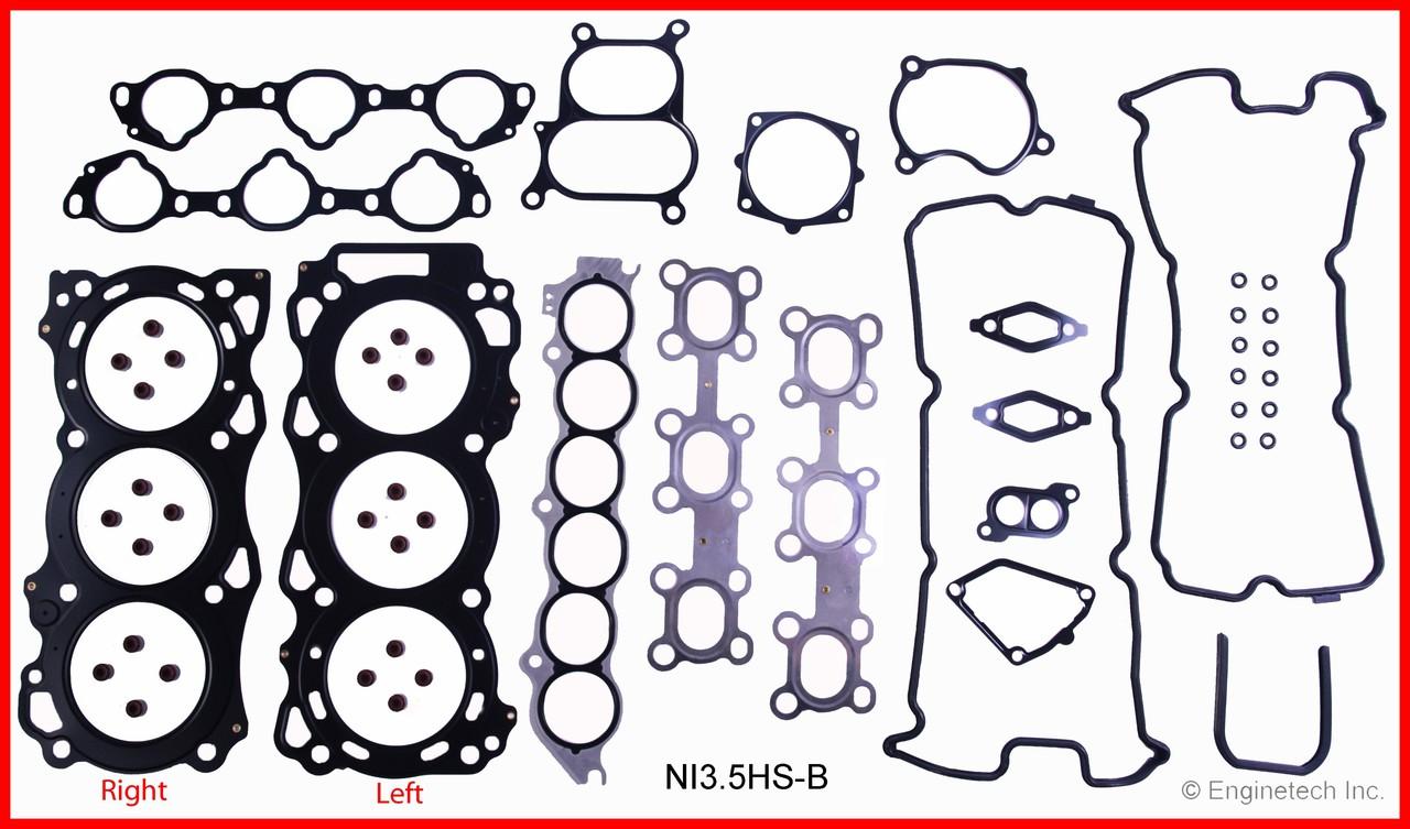 2004 Nissan Maxima 3.5L Engine Rebuild Kit RCNI3.5CP -2