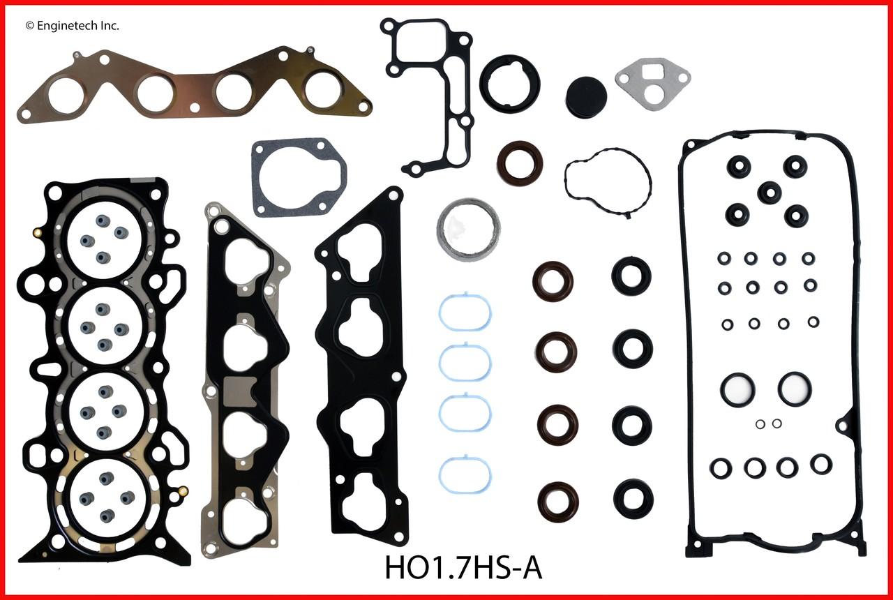 2005 Honda Civic 1.7L Engine Rebuild Kit RCHO1.7AP -30