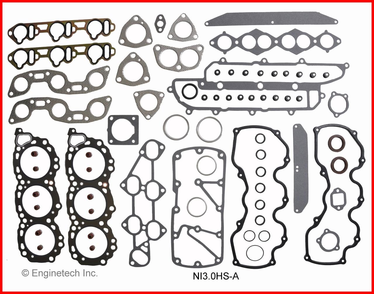 1993 Nissan D21 3 0L Engine Remain Kit (Re-Ring Kit) RMNI3