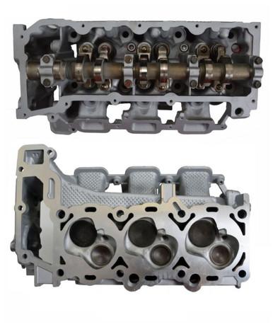 dodge nitro  engine cylinder head assembly chr