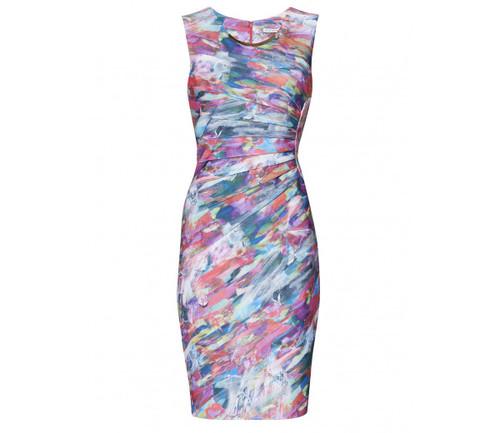 Gina Bacconi Multi Coloured Smart Dress (SQQ9224)