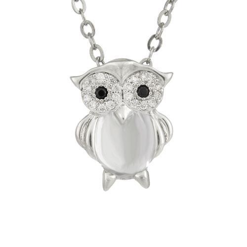 Espree crystal owl pemdant (1895)