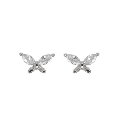 Espree CZ butterfly earrings (2015)