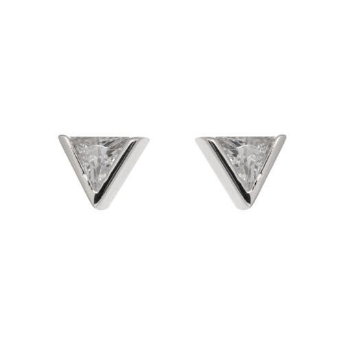 Espree CZ triangle earrings (2014)