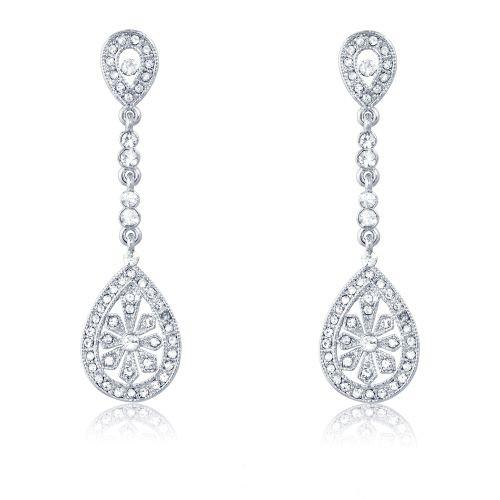 Espree crystal drop earrings (7021)