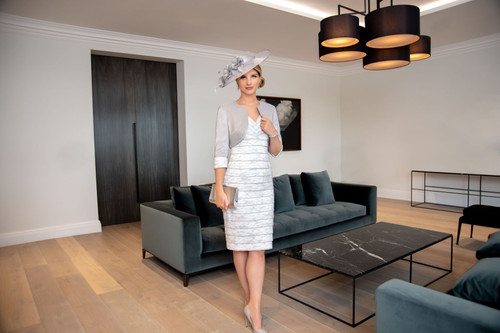 Ispirato lace tiered suit (ISE932)