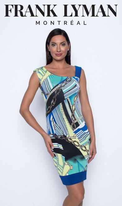 Frank Lyman asymetrical shoulder dress (196243)