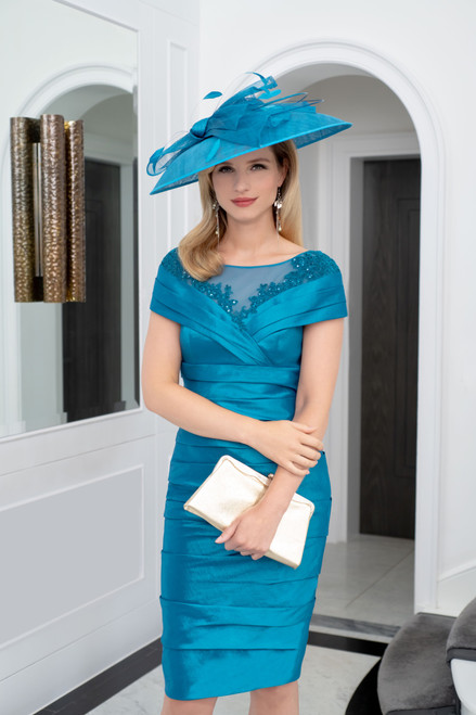 Ispirato Dress with lace insert (ISE820)