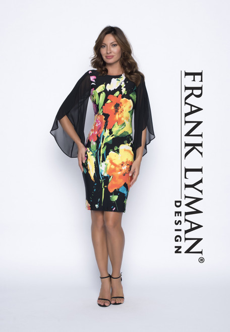 Frank Lyman Floral Dress (191452)