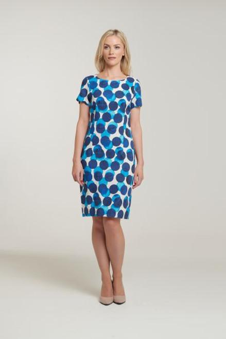 Libra spot shift dress (LD1094)