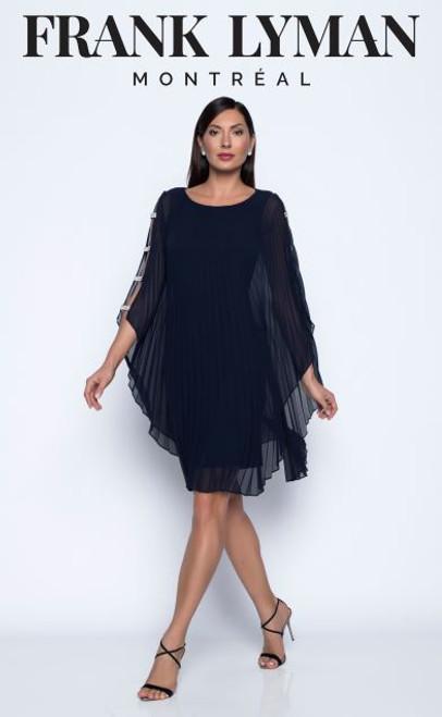 Frank Lyman chiffon pleat dress (208226)