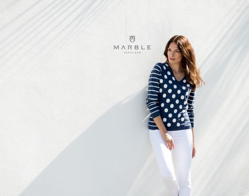 Marble Sweater with spots (5671)