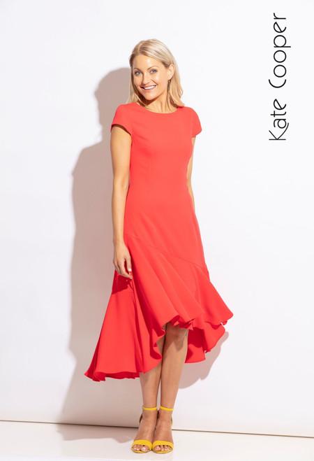 Kate Cooper Dress Diagonal Hem (KCS20121)