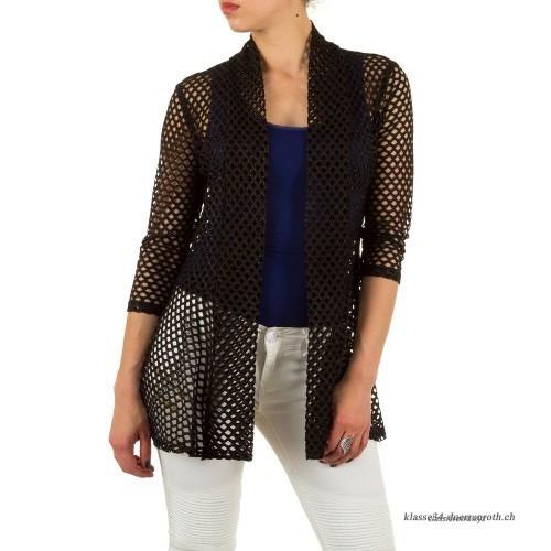 Frank Lyman black mesh jacket (54409)