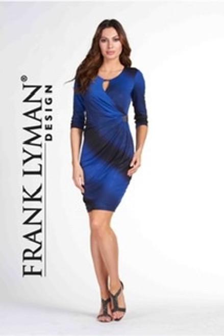 Frank Lyman Blue Cocktail Dress (65258)
