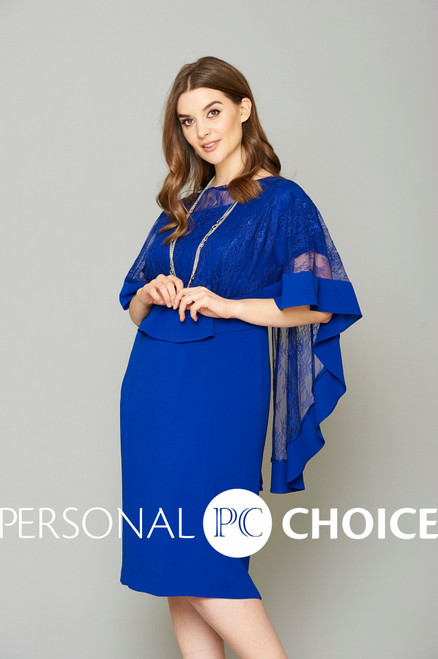 Personal Choice Dress with cape (PCAW19107)