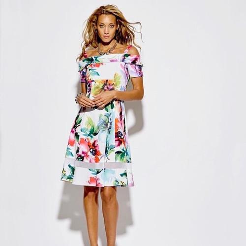 Tia floral dress (78225 7346)