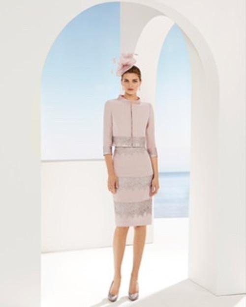 Couture Club lace trim suit (2G2C6TRIE080142)