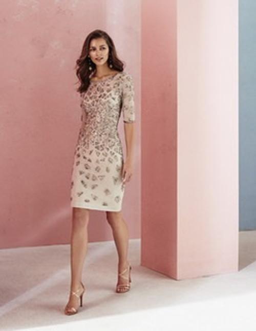 Marfil beaded dress (2J1F4PED00384)