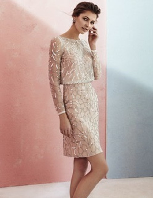 Marfil beaded dress (2J1E3PEDC0571)