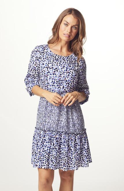 Micha Patterned dress (110926)